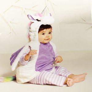 INFANT UNICORN HALLOWEEN COSTUME-NWT